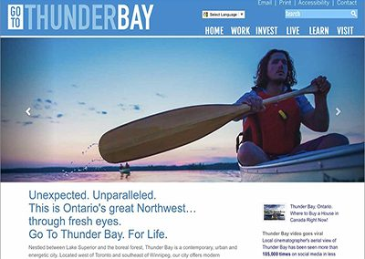 Go To Thunder Bay Branding