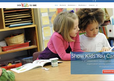 Show Kids You Care Website