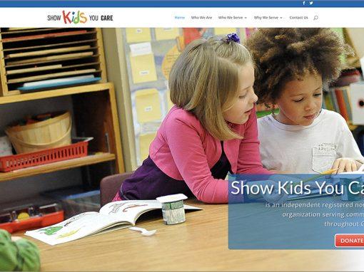 Show Kids You Care Website