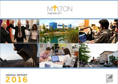 Town of Milton 2016 Annual Report