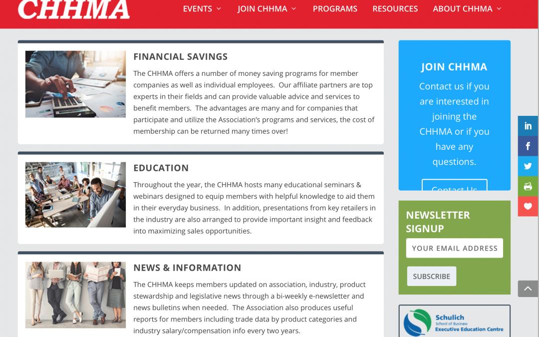CHHMA Website