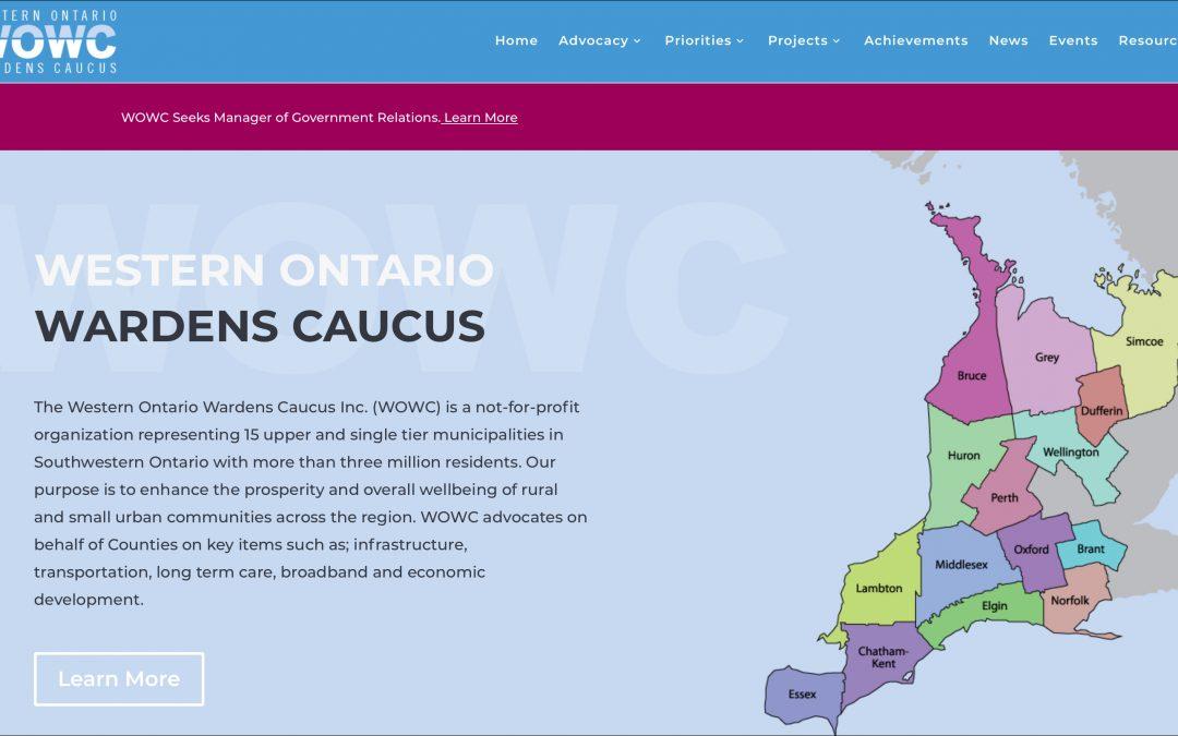 Western Ontario Wardens Caucus Website