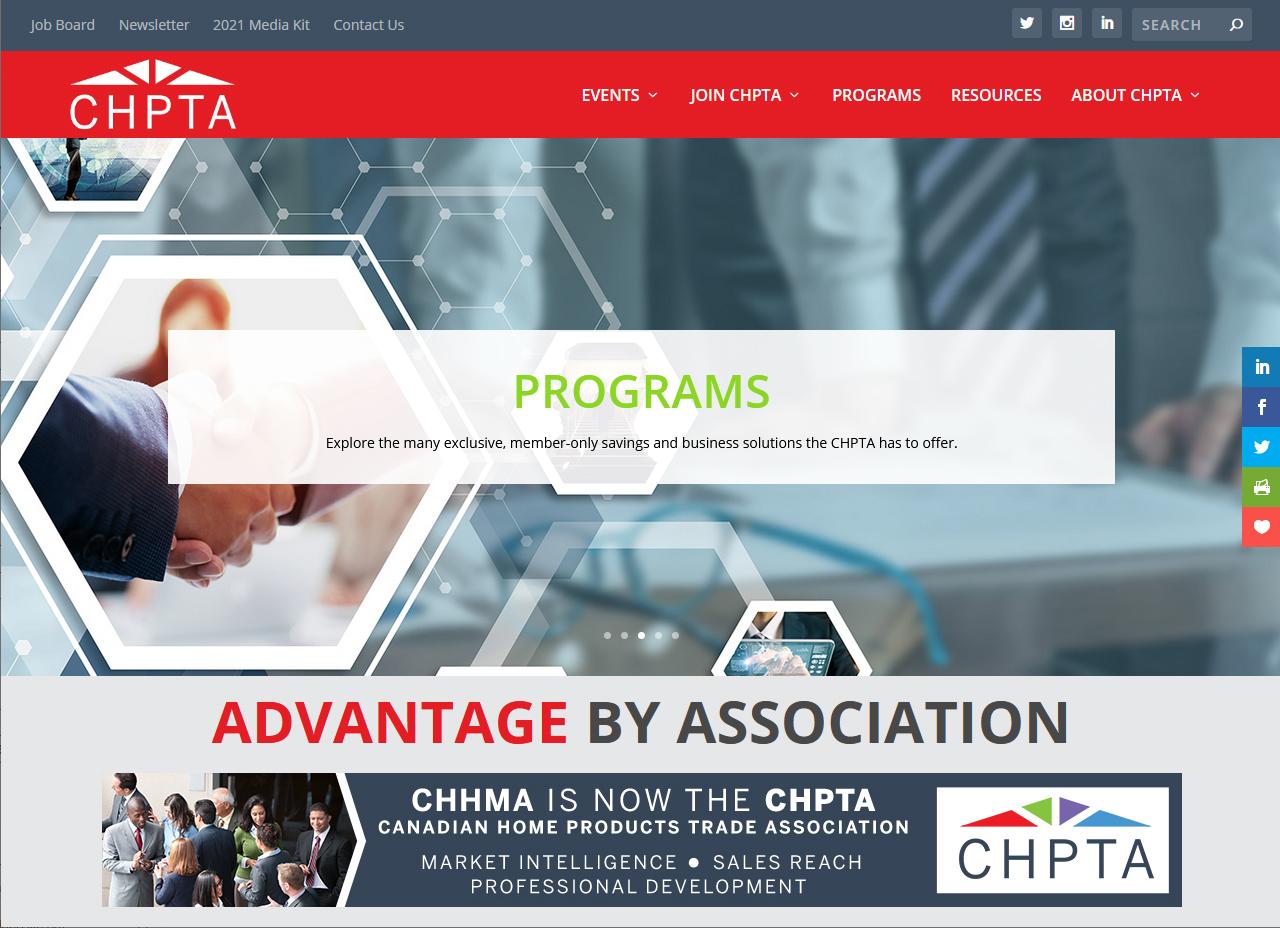 CHPTA website